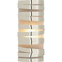 Visual Comfort CL2016PN-FG Clodagh Primitive 1 Light 5 inch Polished Nickel Decorative Wall Light