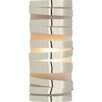 Visual Comfort CL2016PN-FG Clodagh Primitive 1 Light 5 inch Polished Nickel Decorative Wall Light