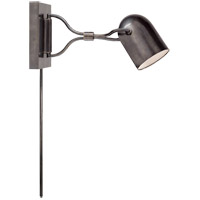 Clodagh Noho 14 inch 60 watt Bronze Task Wall Light
