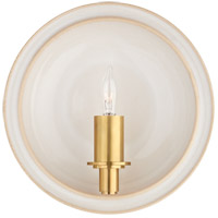 Christopher Spitzmiller Leeds 1 Light 8 inch Ivory Wall Sconce Wall Light, Small Round
