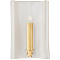 Christopher Spitzmiller Leeds 1 Light 7 inch Ivory Wall Sconce Wall Light, Small Rectangle