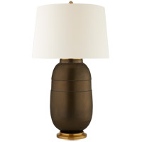 Visual Comfort CS3623MBZ-PL Christopher Spitzmiller Newcomb 37 inch 100 watt Matte Bronze Table Lamp Portable Light