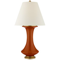 Christopher Spitzmiller Nota 29 inch 100 watt Cinnabar Table Lamp Portable Light