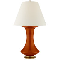 Christopher Spitzmiller Nota 35 inch 100 watt Cinnabar Table Lamp Portable Light