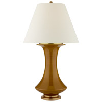 Visual Comfort CS3627DKH-PL Christopher Spitzmiller Nota 35 inch 100 watt Dark Honey Table Lamp Portable Light