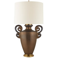 Visual Comfort CS3638MBZ-L Christopher Spitzmiller Ralphaeli 36 inch 100 watt Matte Bronze Table lamp Portable Light Large Handled