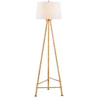Visual Comfort JN1032AGL-L Julie Neill Lafitte 60 inch 100 watt Antique Gold Leaf Floor lamp Portable Light Large