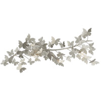 Visual Comfort JN2502BSL Julie Neill Farfalle 3 Light 16 inch Burnished Silver Leaf Sconce Wall Light Large