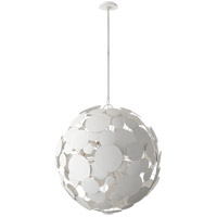 Visual Comfort JN5064WHT Julie Neill Luna 16 Light 30 inch Matte White Chandelier Ceiling Light Large