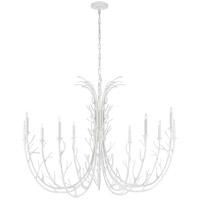 Visual Comfort JN5080PW Julie Neill Silva 12 Light 48 inch Plaster White Chandelier Ceiling Light, Grande