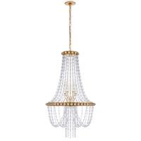 Visual Comfort JN5120G-CG Julie Neill Navona 6 Light 23 inch Gild Basket Chandelier Ceiling Light Medium