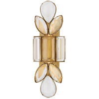 Visual Comfort KS2017SB-CG Kate Spade New York Lloyd 2 Light 6 inch Soft Brass Jeweled Sconce Wall Light Large