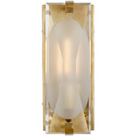 Visual Comfort KS2060SB-CG Kate Spade New York Castle Peak 1 Light 5 inch Soft Brass Bath Sconce Wall Light Small