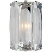 Visual Comfort KS2062PN-CG Kate Spade New York Castle Peak 1 Light 8 inch Polished Nickel Bath Sconce Wall Light Large