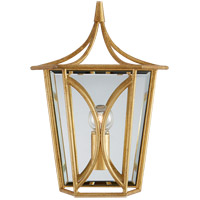 Visual Comfort KS2144G Kate Spade New York Cavanagh 1 Light 9 inch Gild Lantern Sconce Wall Light Mini