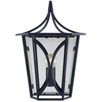 Visual Comfort KS2144NVY Kate Spade New York Cavanagh 1 Light 9 inch French Navy Lantern Sconce Wall Light Mini