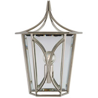 Visual Comfort KS2144PN Kate Spade New York Cavanagh 1 Light 9 inch Polished Nickel Lantern Sconce Wall Light Mini