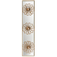 Visual Comfort KS2231G Kate Spade New York Keaton 3 Light 18 inch Gild Floral Vanity Light Wall Light