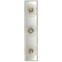 Visual Comfort KS2231LC Kate Spade New York Keaton 3 Light 18 inch Light Cream Floral Vanity Light Wall Light
