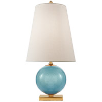 Visual Comfort KS3101STU-L Kate Spade New York Corbin 21 inch 60 watt Sandy Turquoise Accent Lamp Portable Light Mini