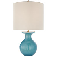 Visual Comfort KS3616STU-L Kate Spade New York Albie 25 inch 60 watt Sandy Turquoise Desk Lamp Portable Light Small