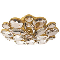 Visual Comfort KS4015SB-CG Kate Spade New York Lloyd 3 Light 13 inch Soft Brass Round Flush Mount Ceiling Light Medium