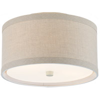 Visual Comfort KS4070LC-NL Kate Spade New York Walker 2 Light 14 inch Light Cream Flush Mount Ceiling Light Small
