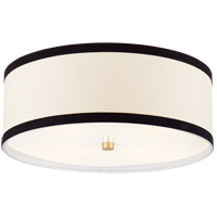 Visual Comfort KS4071G-L/BL Kate Spade New York Walker 4 Light 18 inch Gild Flush Mount Ceiling Light Medium