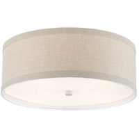 Visual Comfort KS4071LC-NL Kate Spade New York Walker 4 Light 18 inch Light Cream Flush Mount Ceiling Light Medium