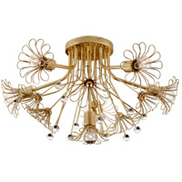 Visual Comfort KS4311G Kate Spade New York Keaton 6 Light 23 inch Gild Flush Mount Ceiling Light