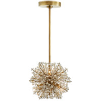 Visual Comfort KS5003SB-CG Kate Spade New York Dickinson 7 Light 10 inch Soft Brass Chandelier Ceiling Light Mini