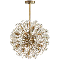 Visual Comfort KS5005SB-CG Kate Spade New York Dickinson 17 Light 22 inch Soft Brass Chandelier Ceiling Light, Medium