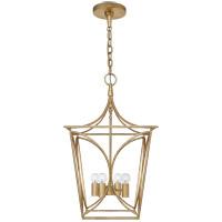 Visual Comfort KS5144G Kate Spade New York Cavanagh 4 Light 14 inch Gild Lantern Pendant Ceiling Light Small