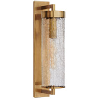 Kelly Wearstler Liaison 1 Light 20 inch Antique-Burnished Brass Outdoor Wall Sconce, Large Bracketed