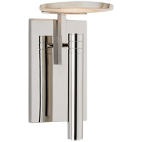 Visual Comfort KW2610PN-ALB Kelly Wearstler Melange LED 5 inch Polished Nickel Wall Sconce Wall Light, Floating Disc