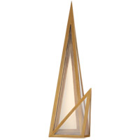 Visual Comfort KW2652AB-CLG Kelly Wearstler Ori LED 7 inch Bronze Sconce Wall Light, Tall