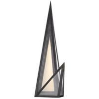 Visual Comfort KW2652BZ-CLG Kelly Wearstler Ori LED 7 inch Bronze Sconce Wall Light