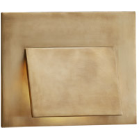 Visual Comfort KW2706AB Kelly Wearstler Esker LED 9 inch Antique-Burnished Brass Wall Sconce Wall Light