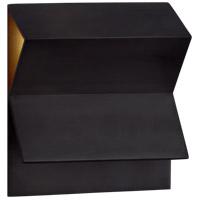 Visual Comfort KW2708BZ Kelly Wearstler Esker LED 9 inch Bronze Wall Sconce Wall Light