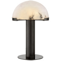 Kelly Wearstler Melange 23 inch 14.5 watt Bronze Table Lamp Portable Light, Kelly Wearstler, Alabaster Shade