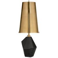 Visual Comfort KW3012BM-AB Kelly Wearstler Halcyon 25 inch 75 watt Black Cremo Marble Accent Lamp Portable Light in Antique Brass Medium