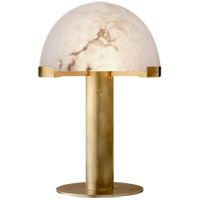 Visual Comfort KW3109AB-ALB Kelly Wearstler Melange 18 inch 12 watt Antique-Burnished Brass Desk Lamp Portable Light in Antique Burnished Brass