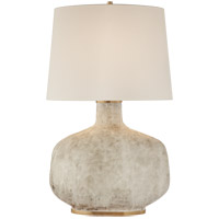 Visual Comfort Kelly Wearstler Beton 35 inch 75 watt Antiqued White Ceramic Table Lamp Portable Light KW3614AWC-L - Open Box
