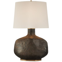 Visual Comfort KW3614CBZ-L Kelly Wearstler Beton 35 inch 75 watt Crystal Bronze Ceramic Table Lamp Portable Light
