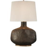 Visual Comfort KW3614CBZ-L Kelly Wearstler Beton 35 inch 75 watt Crystal Bronze Ceramic Table Lamp Portable Light