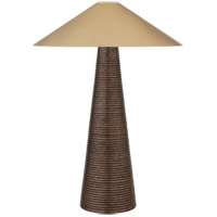 Visual Comfort KW3661CBZ-AB Kelly Wearstler Miramar 33 inch 40 watt Crystal Bronze Ceramic Table Lamp Portable Light