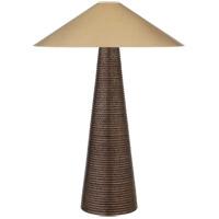 Visual Comfort KW3661CBZ-AB Kelly Wearstler Miramar 33 inch 40 watt Crystal Bronze Ceramic Table Lamp Portable Light