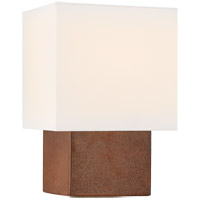 Visual Comfort KW3676ACO-L Kelly Wearstler Pari 18 inch 75 watt Autumn Copper Table Lamp Portable Light, Small
