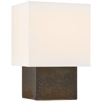 Visual Comfort KW3676SBM-L Kelly Wearstler Pari 18 inch 75 watt Stained Black Metallic Table Lamp Portable Light, Small