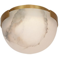 Visual Comfort KW4011AB-ALB Kelly Wearstler Melange LED 5 inch Antique-Burnished Brass Flush Mount Ceiling Light, Petite
